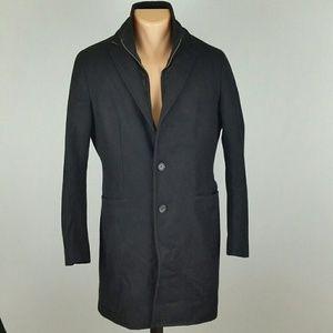 Banana Republic Men's Wool Pea Coat